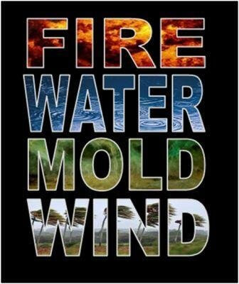 Safety against Fire Water Mold Wind