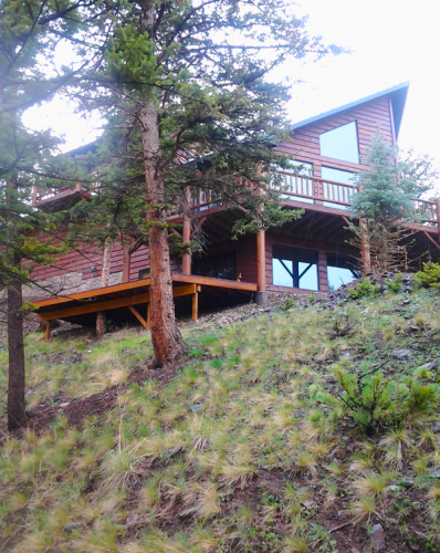 Custom Home in the Trees