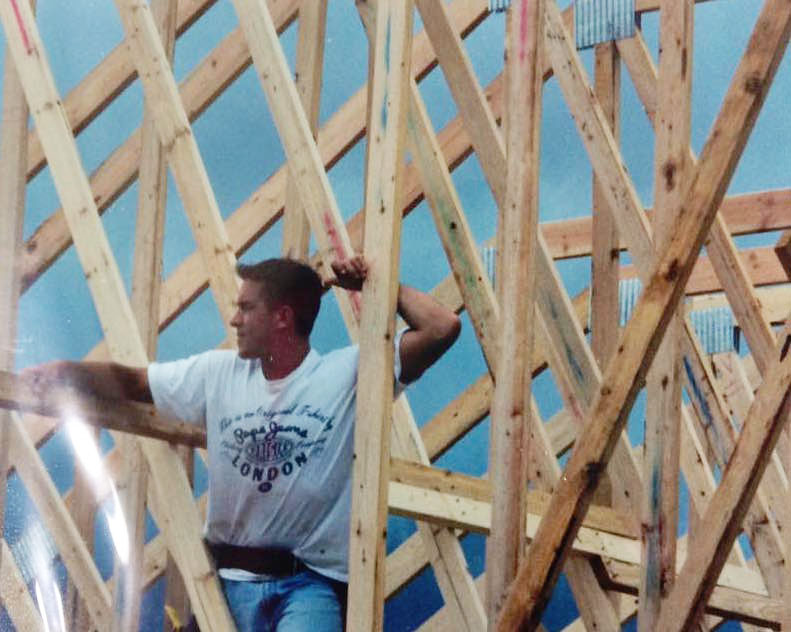 Chad Framing the Lutheran Church