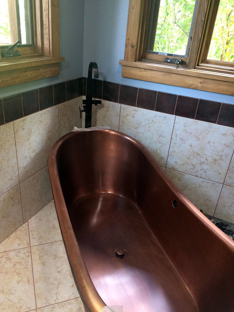 Bathroom Remodel   High Desert LLC Construction and Restoration   Cody Wyoming