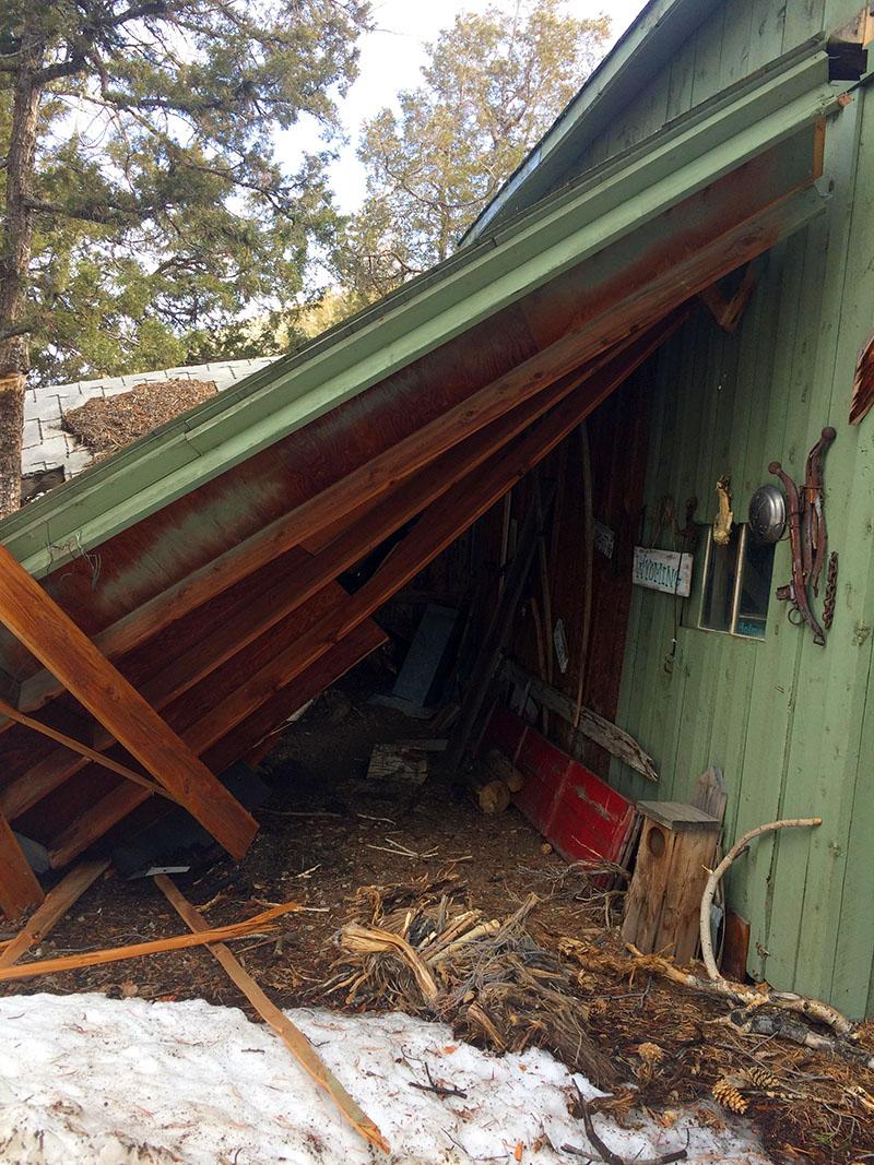 Wind Damage Restoration   High Desert LLC Construction and Restoration   Cody Wyoming